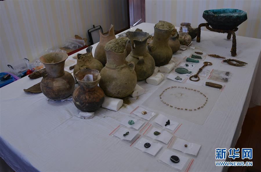 """(圖文互動)(1)考古專家:漢晉時期皮央東嘎一帶曾與""""絲綢之路""""沿線互通往來"""