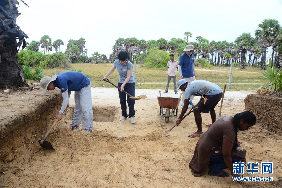 (国际・图文互动)(1)中国考古人员在斯里兰卡发现重要海丝遗迹