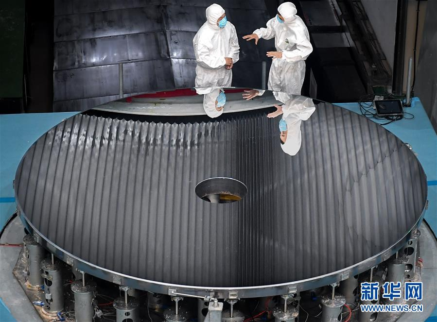 (科技)(1)我国研制出4米大口径碳化硅非球面光学反射镜
