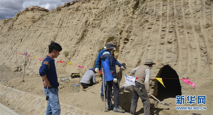 """(图文互动)(6)考古专家:汉晋时期皮央东嘎一带曾与""""丝绸之路""""沿线互通往来"""