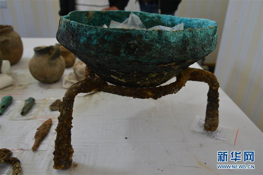 """(图文互动)(3)考古专家:汉晋时期皮央东嘎一带曾与""""丝绸之路""""沿线互通往来"""