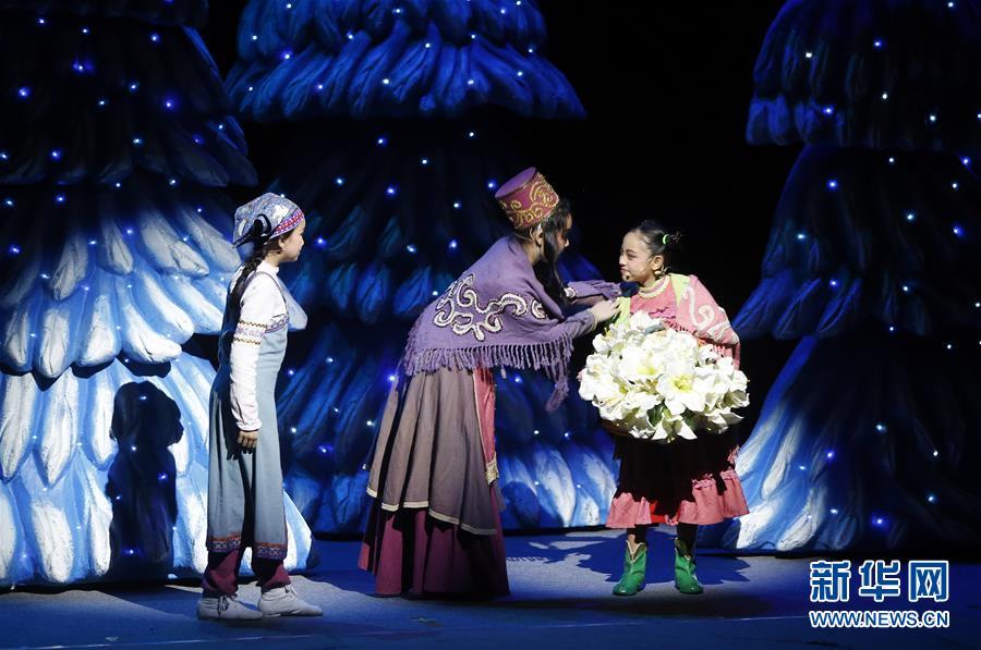 小学生话剧团亮相国际儿童青少年戏剧协会艺术