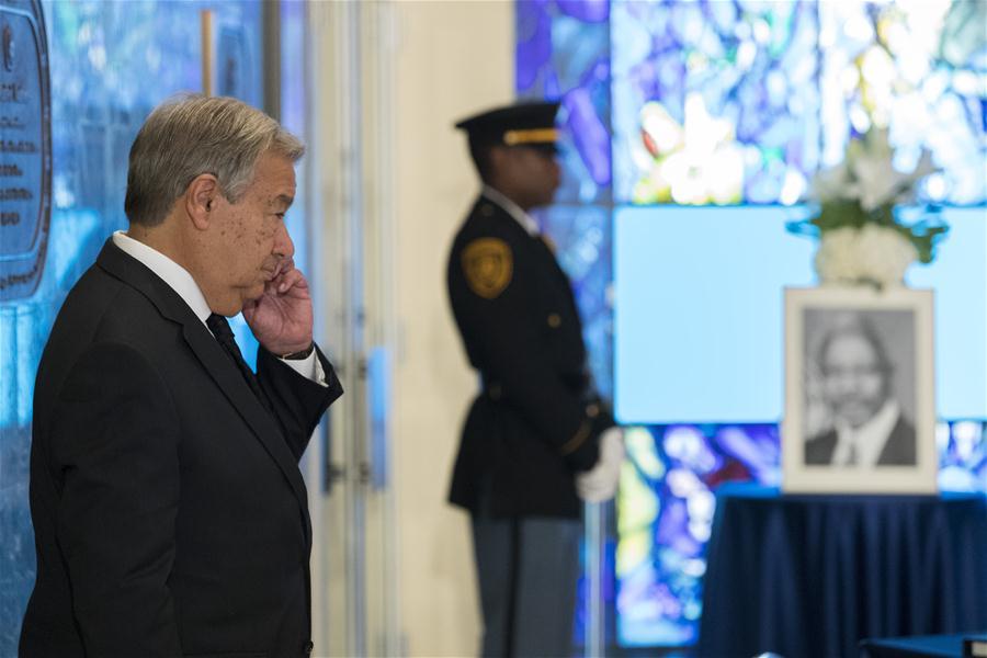 UN-FORMER SECRETARY-GENERAL-KOFI ANNAN-DEATH