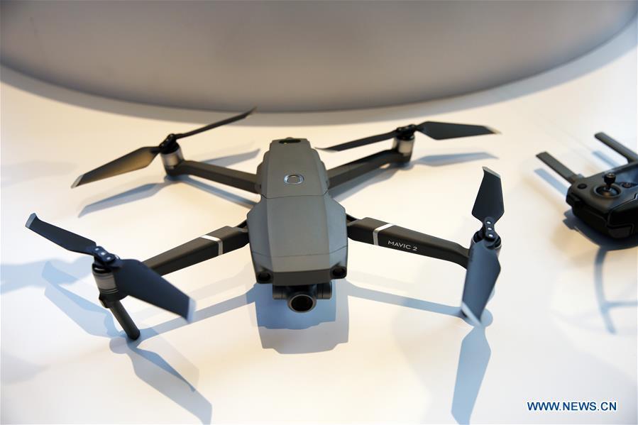 U.S.-NEW YORK-DJI-DRONE-RELEASE