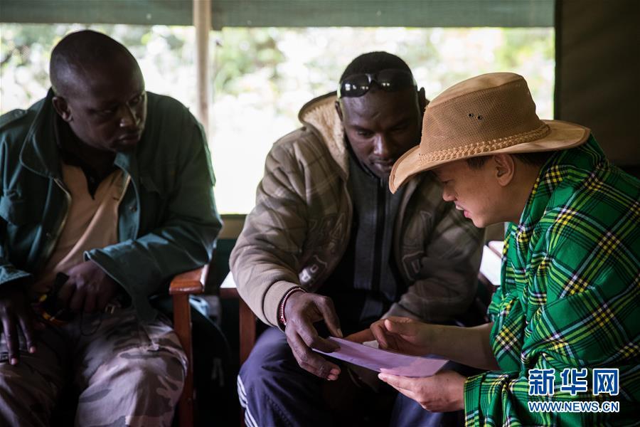 (国际・中非合作论坛・图文互动)(12)与狮同行――东非草原上的中国追梦人