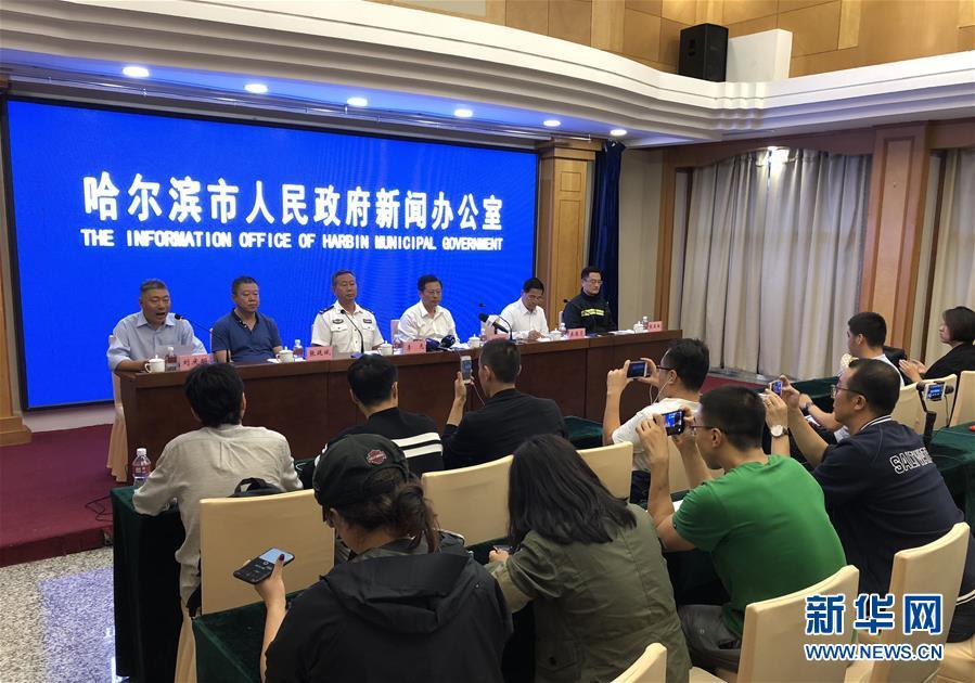 (突发事件)(2)哈尔滨酒店火灾已造成19人死亡 有关部门正全力救治伤患