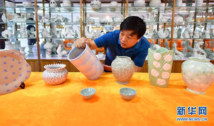 """(文化)(1)绞胎瓷:""""编织""""出来的瓷器"""