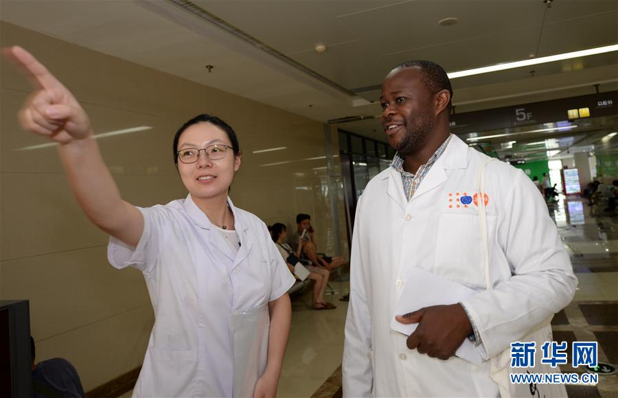 """(中非合作论坛)(8)""""我们的梦想成真了!""""――马拉维医生在西安接受培训"""