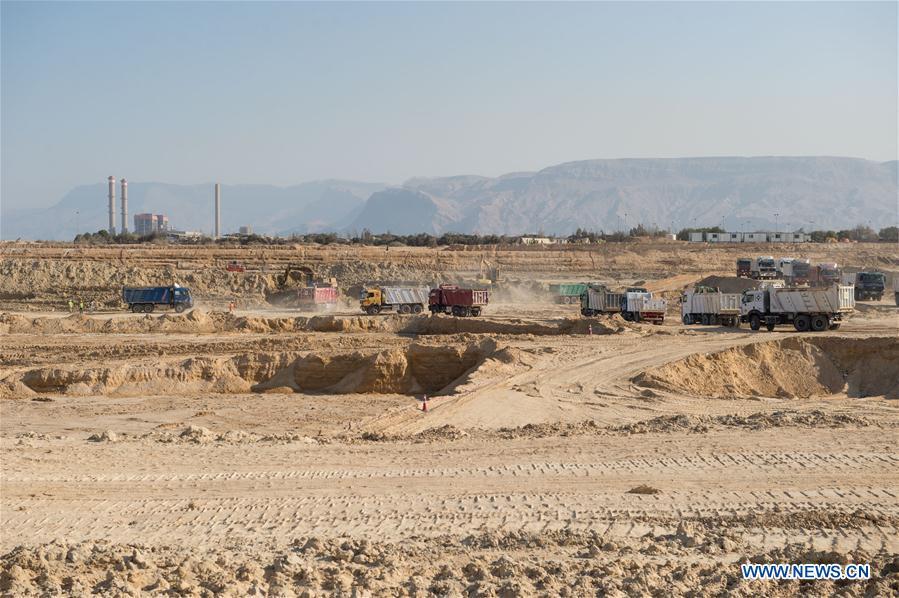 EGYPT-SUEZ CANAL-CHINA-CHEC-HARBOUR-CONSTRUCTION