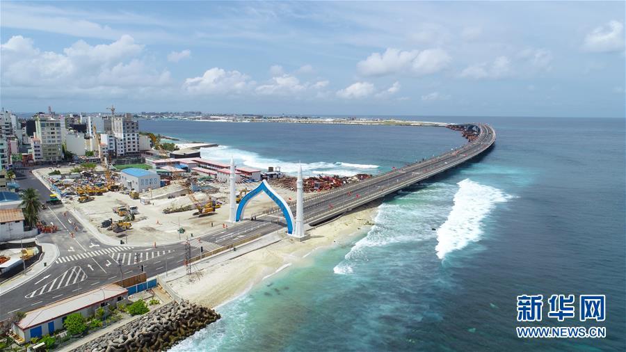 (国际)(1)中马友谊大桥正式开通