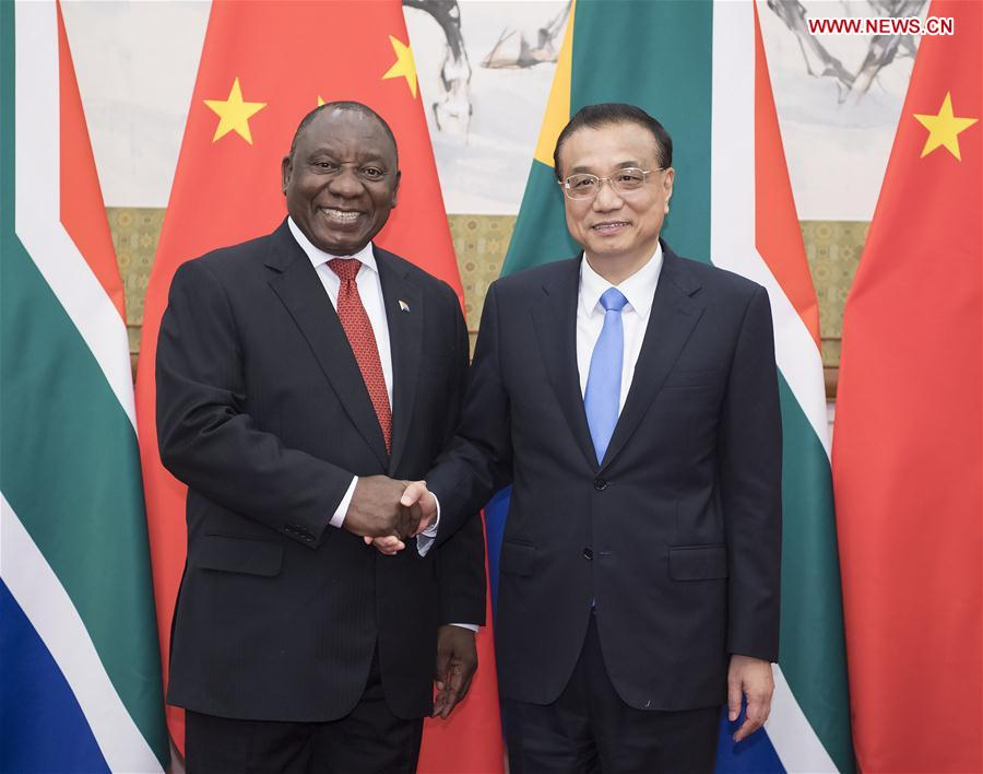 CHINA-BEIJING-LI KEQIANG-SOUTH AFRICAN PRESIDENT-MEETING (CN)