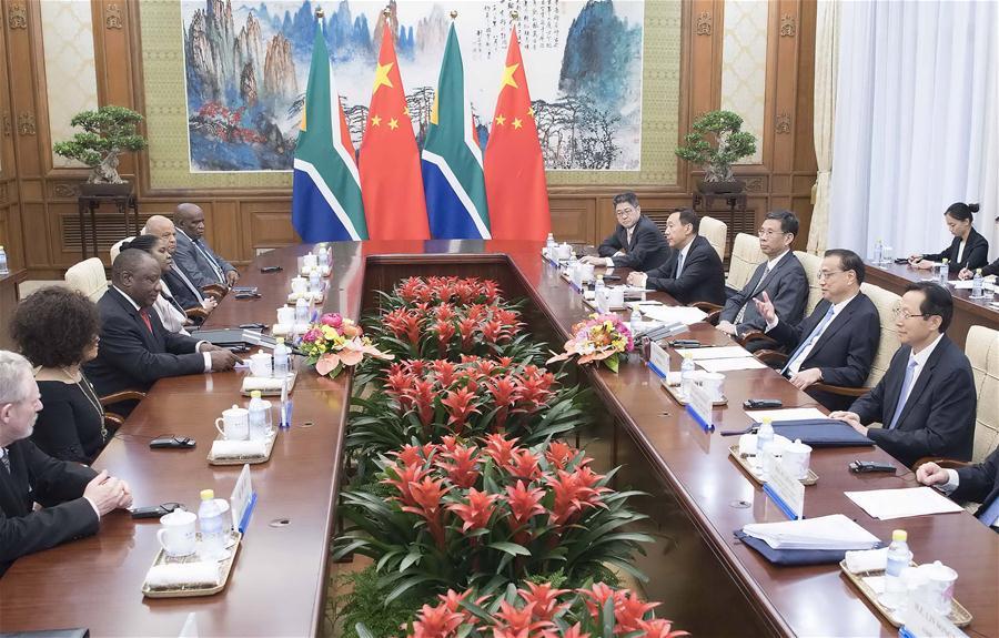 CHINA-BEIJING-LI KEQIANG-SOUTH AFRICAN PRESIDENT-MEETING (CN)