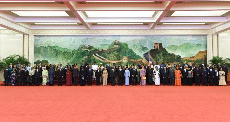 CHINA-BEIJING-FOCAC-SUMMIT-WELCOMING BANQUET (CN)