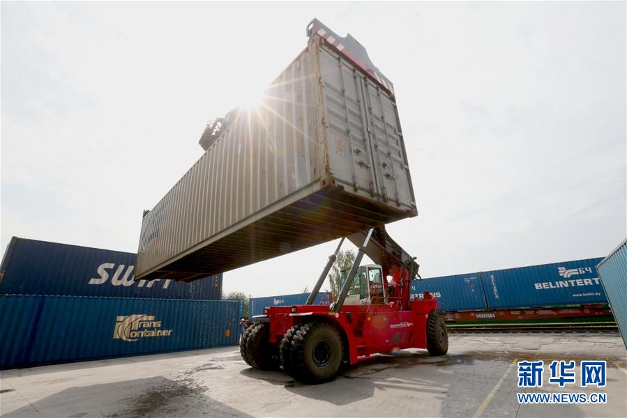 (国际)(2)白俄罗斯奶制品首次经集装箱班列发往中国