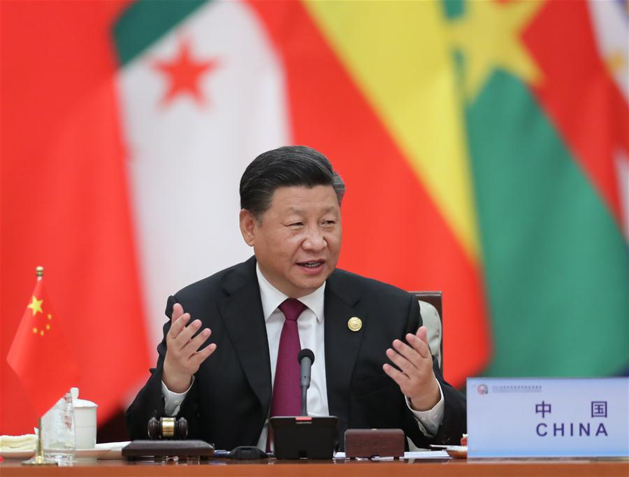 CHINA-BEIJING-XI JINPING-FOCAC-ROUNDTABLE MEETING (CN)