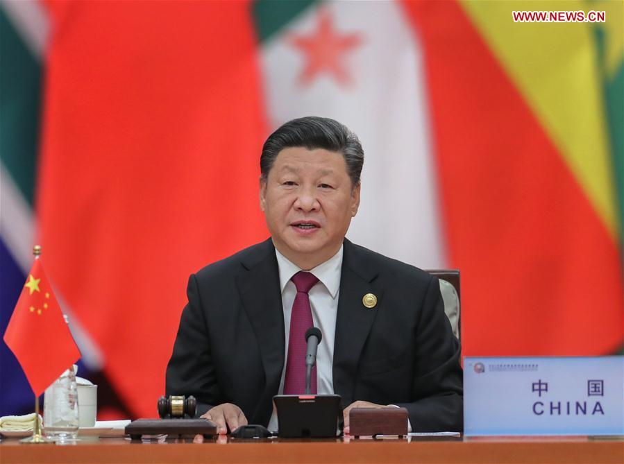 CHINA-BEIJING-XI JINPING-FOCAC-ROUNDTABLE MEETING (CN)