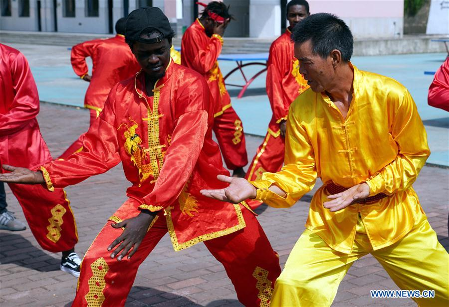 CHINA-JIANGXI-AFRICAN STUDENT-CHINESE CULTURE (CN)