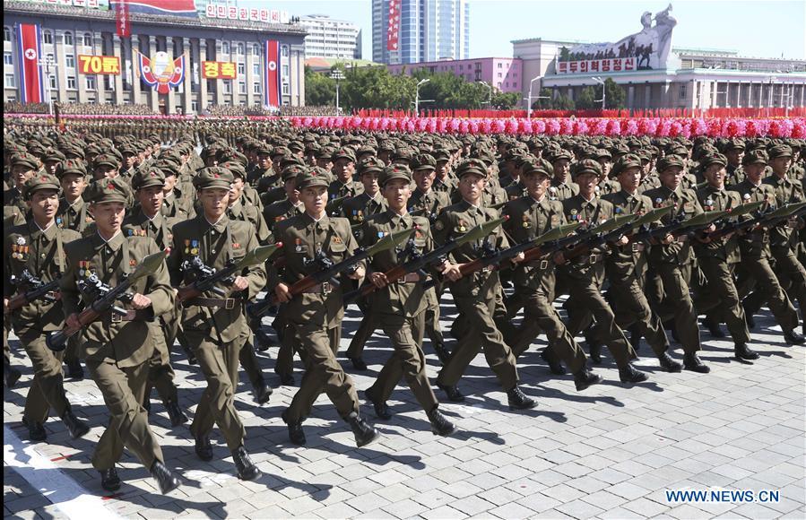 DPRK-PYONGYANG-70TH ANNIVERSARY-PARADE