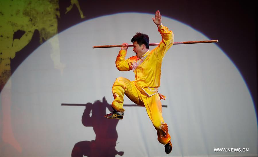 """China Day"" Wushu show presented in U.S."