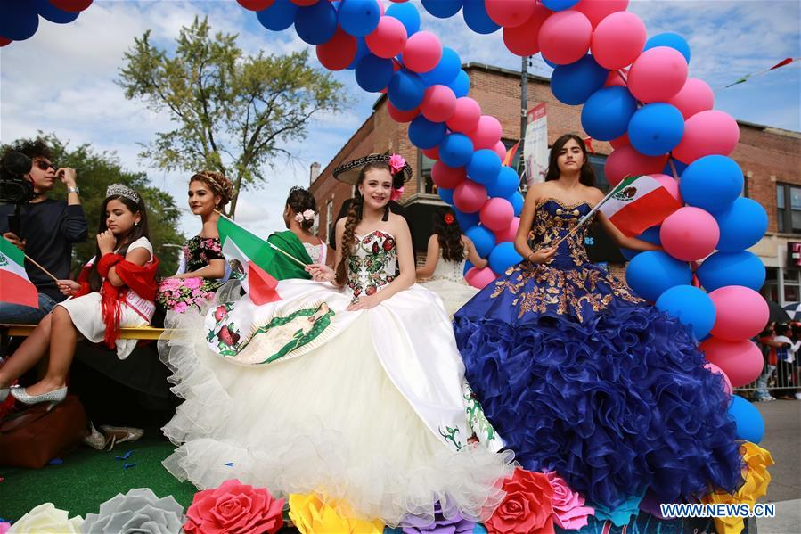 U.S.-CHICAGO-MEXICO-INDEPENDENCE DAY-PARADE
