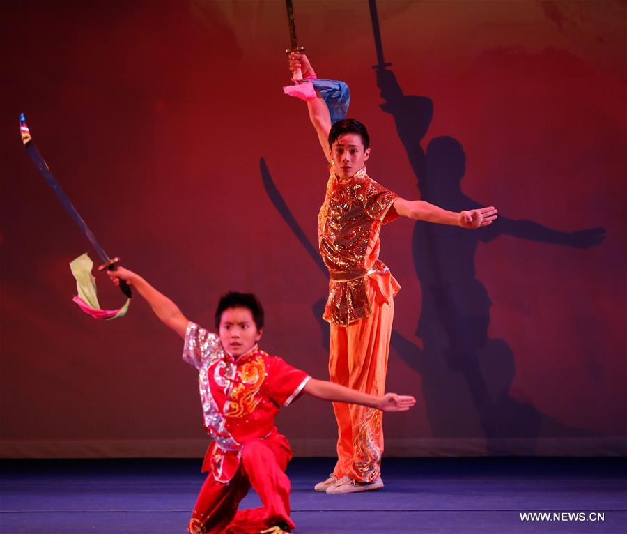 U.S.-WASHINGTON-CHINA DAY-KUNGFU SHOW
