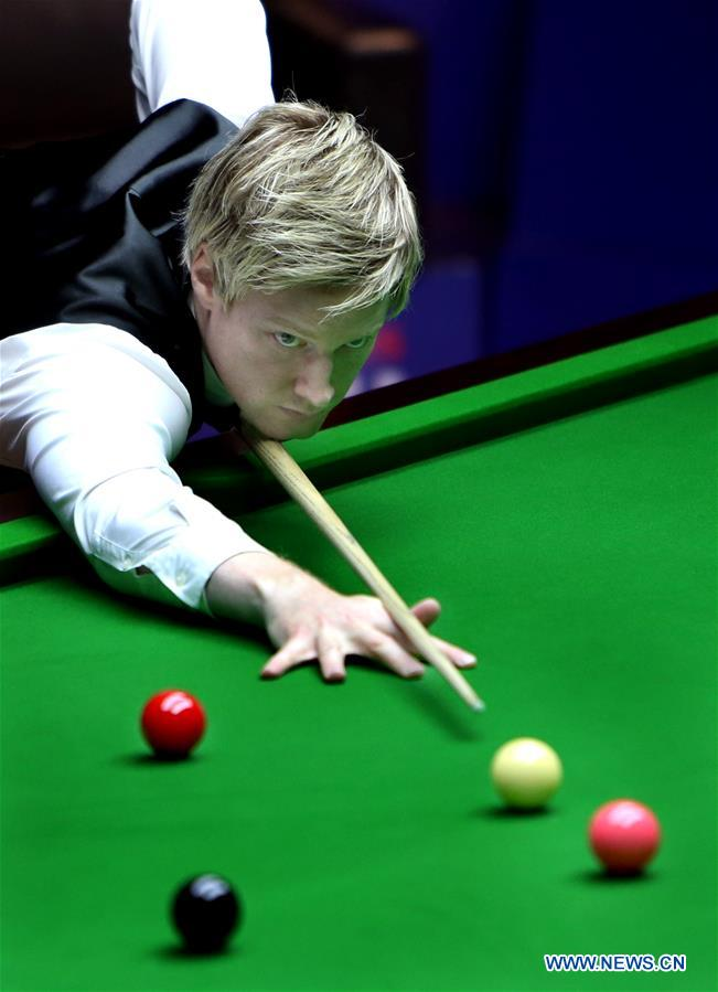 World Snooker Shanghai Masters: Neil Robertson vs. Guo Hua