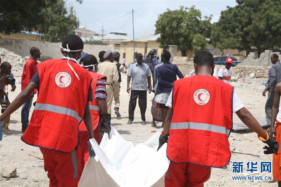 (国际)(1)索马里首都发生汽车炸弹袭击至少6人死亡