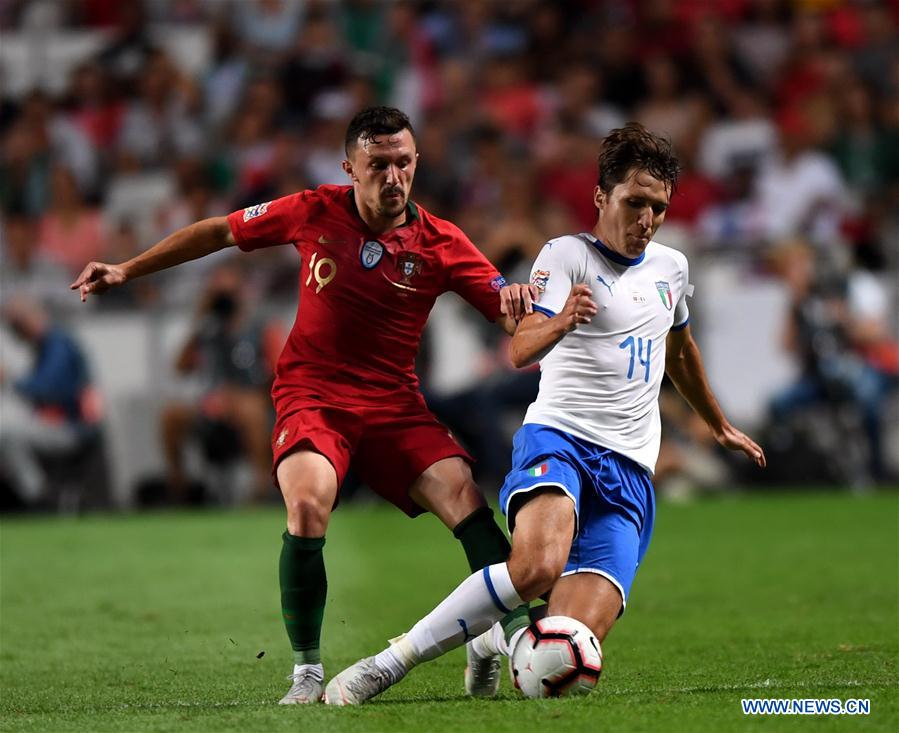 (SP)PORTUGAL-LISBON-SOCCER-UEFA-NATIONS LEAGUE-PORTUGAL VS ITALY