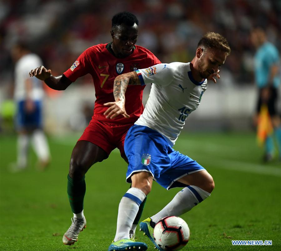 (SP)PORTUGAL-LISBON-SOCCER-UEFA-NATIONS LEAGUE-PORTUGAL VS ITALY