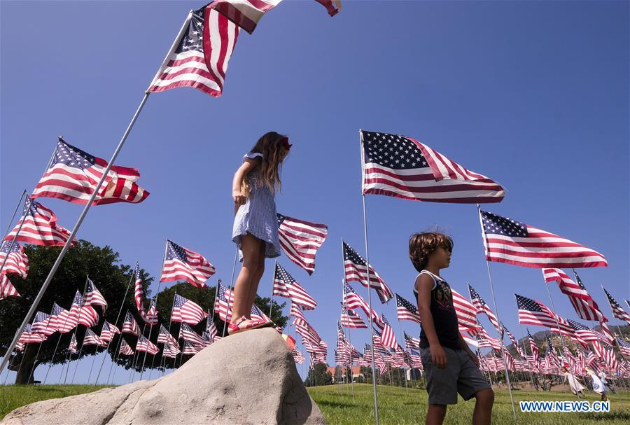 Sept. 11, 2001 terror attacks commemorated in Malibu, U.S.