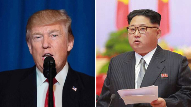 U.S. President Donald Trump (left) and Kim Jong Un, the top leader of DPRK [File Photo: China Plus]