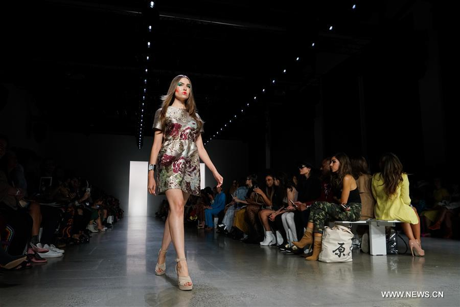 Dan Liu's creations presented at New York Fashion Week