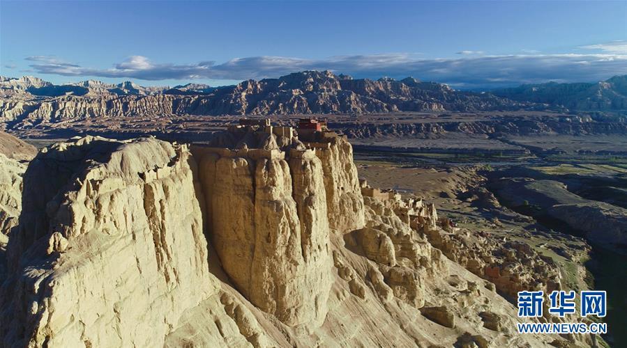 (美丽中国)(1)探访神秘的西藏古格王国遗址
