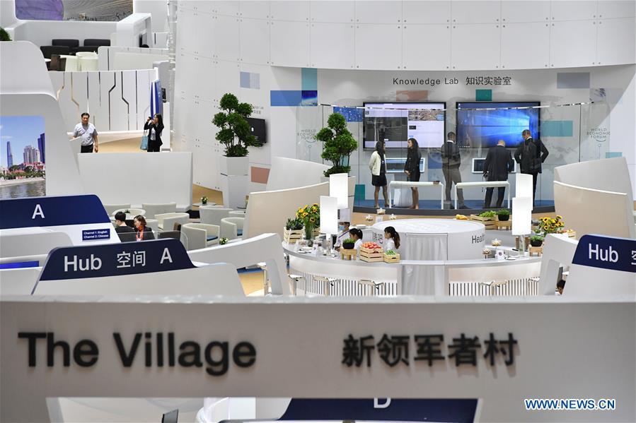 CHINA-TIANJIN-SUMMER DAVOS FORUM-PREPARATION (CN)