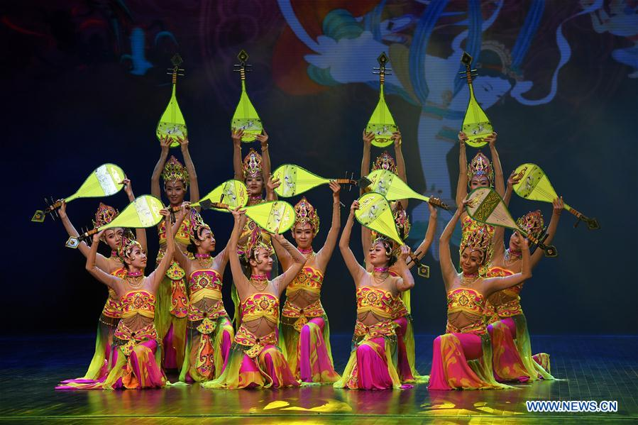 CHINA-LANZHOU-MID-AUTUMN FESTIVAL-PERFORMANCE (CN)