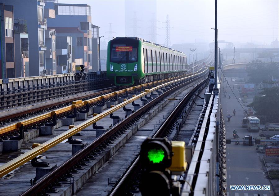 China-constructed urban railway in Vietnam on horizon