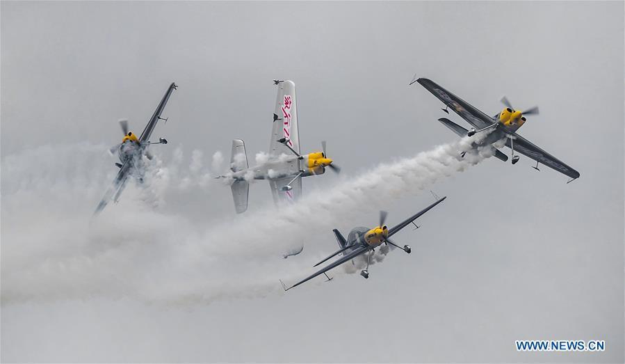 Aviclub Flight Carnival 2018 held in China's Hubei