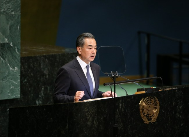 Chinese State Councilor and Foreign Minister Wang Yi [Photo:fmprc.gov.cn]