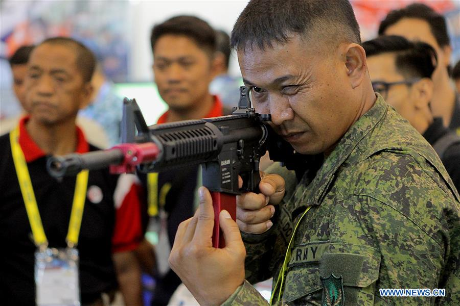2018 Asian Defense, Security and Crisis Management exhibition and conference held in Philippines