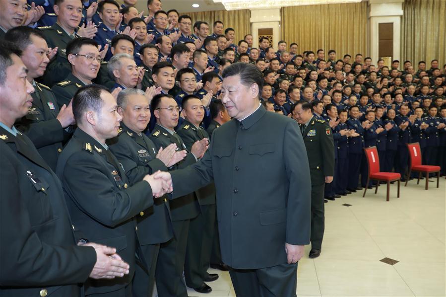 CHINA-MILITARY-XI JINPING-INSPECTION (CN)