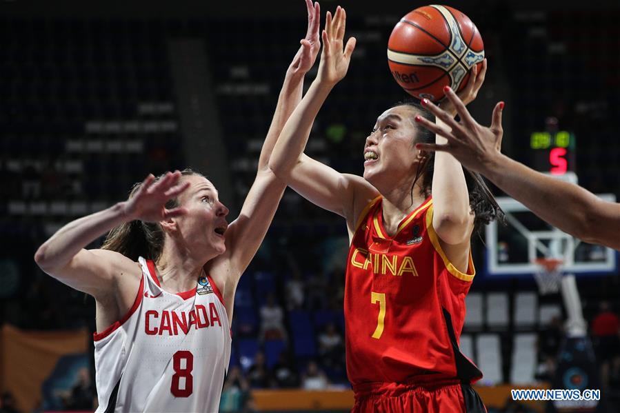 China beats Canada in class 5-8 match at FIBA Women's Basketball World Cup