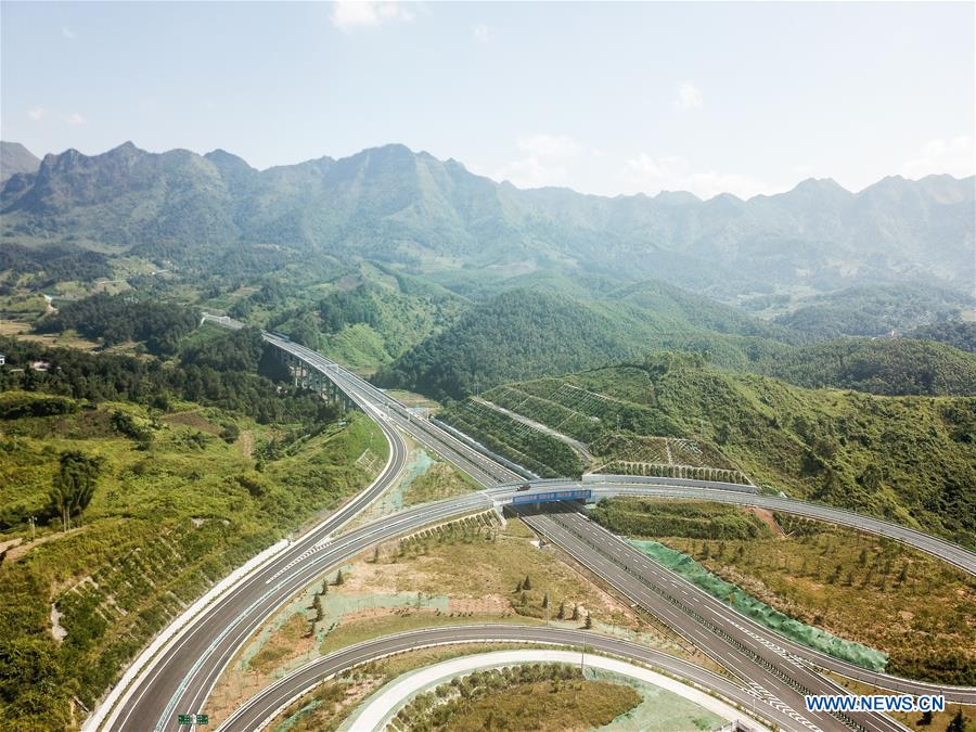 Luodian-Wangmo highway put into operation in southwest China's Guizhou