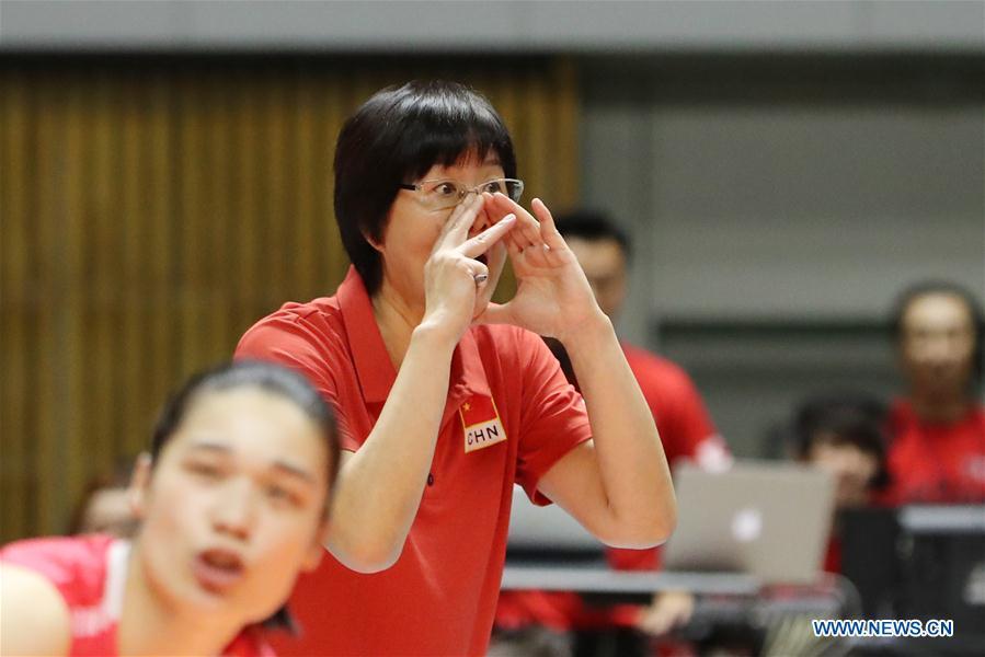 China beats Canada 3-0 at 2018 Volleyball Women's World Championship