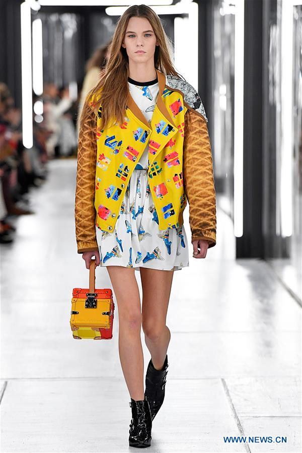 Creations Of Louis Vuitton Presented During 2019 Spring Summer