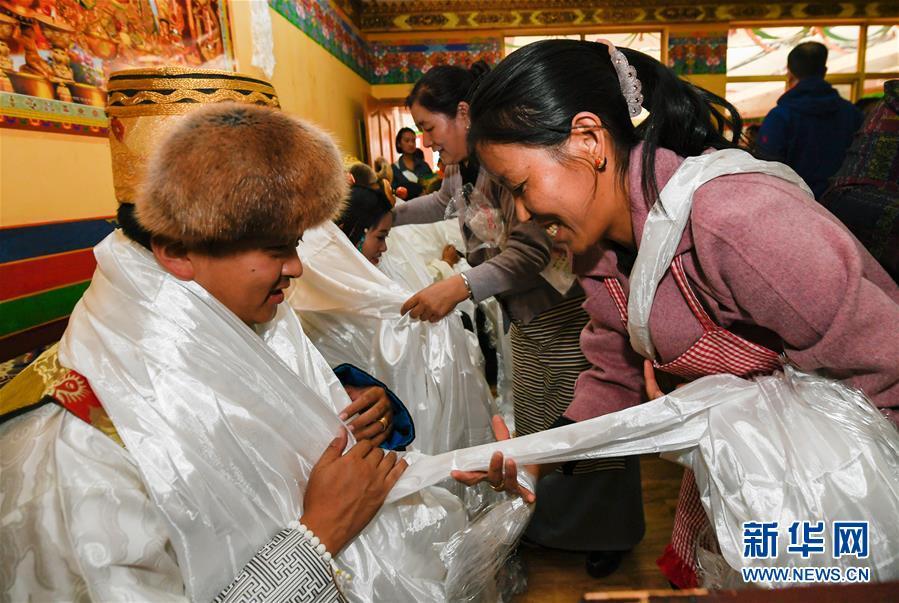 (文化)(1)国庆节期间的藏式婚礼