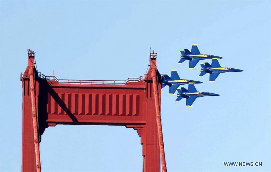 In pics: air show of Fleet Week activities in San Francisco