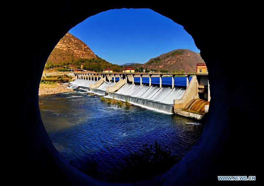 In pics: irrigation system in Lulong, N China's Hebei