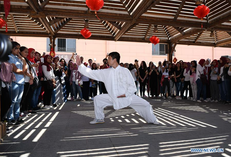 EGYPT-CAIRO-NATIONAL MUSEUM-CONFUCIUS INSTITUTE-CHINESE CULTURE DAY