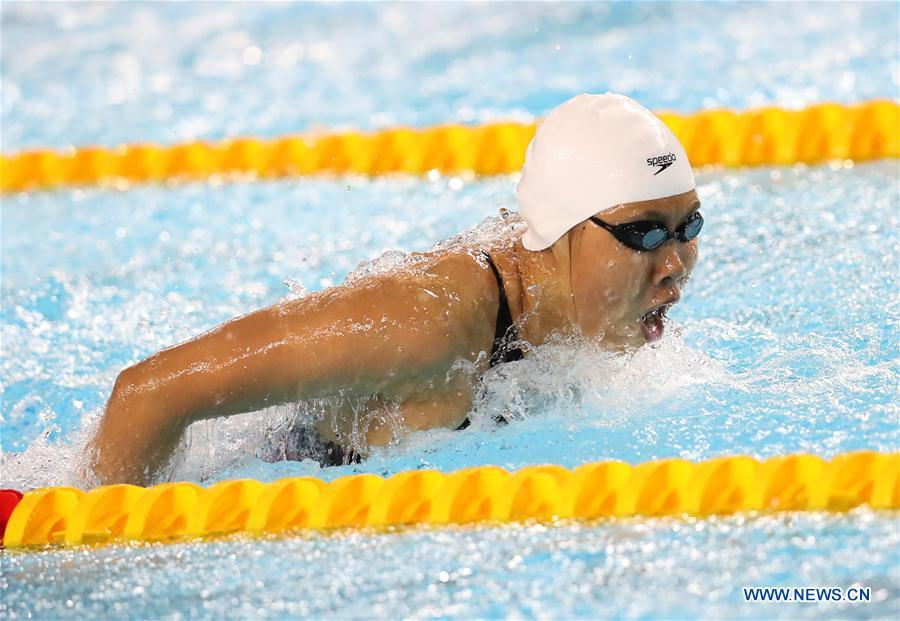 (SP)ARGENTINA-BUENOS AIRES-SUMMER YOUTH OLYMPIC GAMES-SWIMMING-WOMEN'S 4X100M MEDLEY RELAY