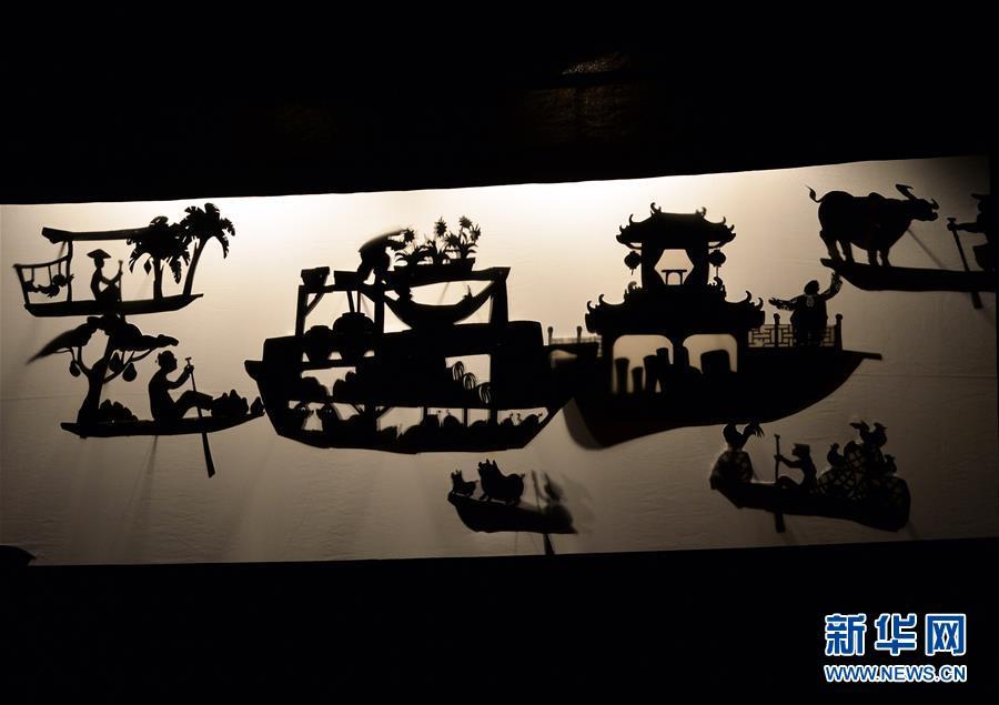 (国际)(1)河内国际木偶节开幕